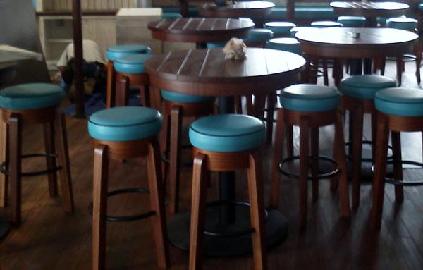 Custom Built Bar Stoolahogany Tables