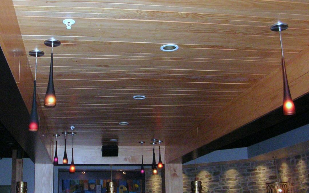 Carmel Cafe and Wine Bar Ceilings