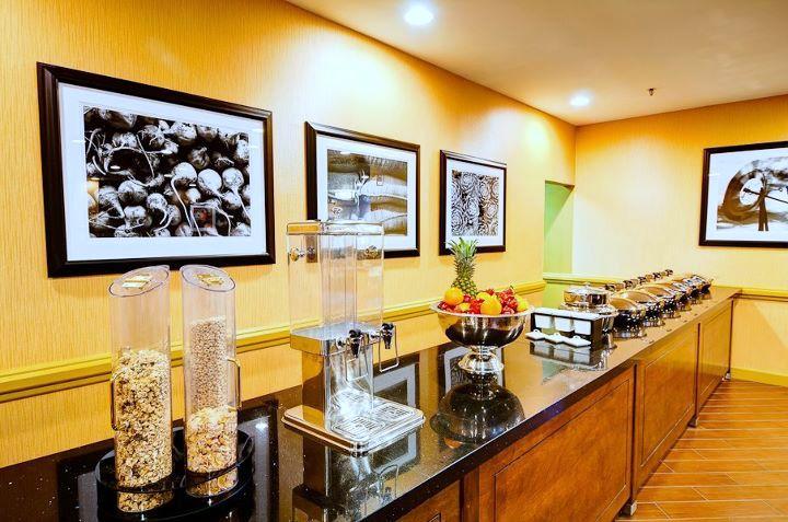 Double Tree Hotel Breakfast Bar