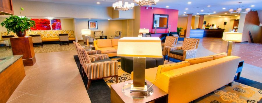 Double Tree Hotel Lobby