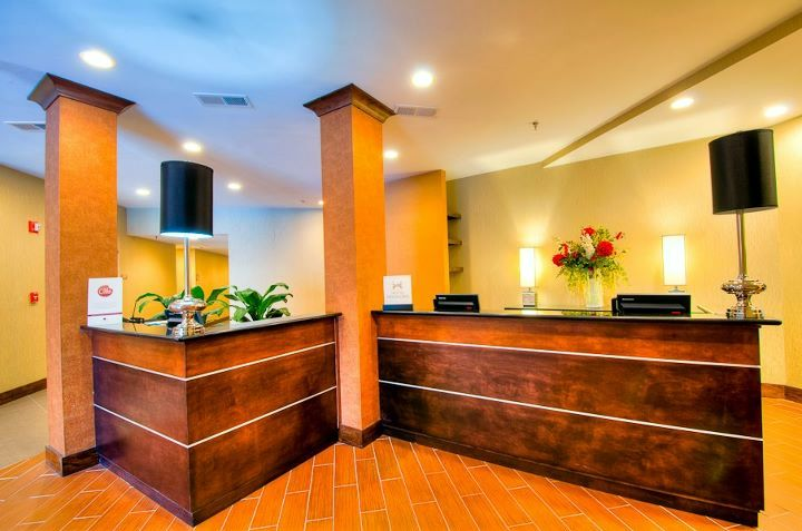 Double Tree Hotel Reception