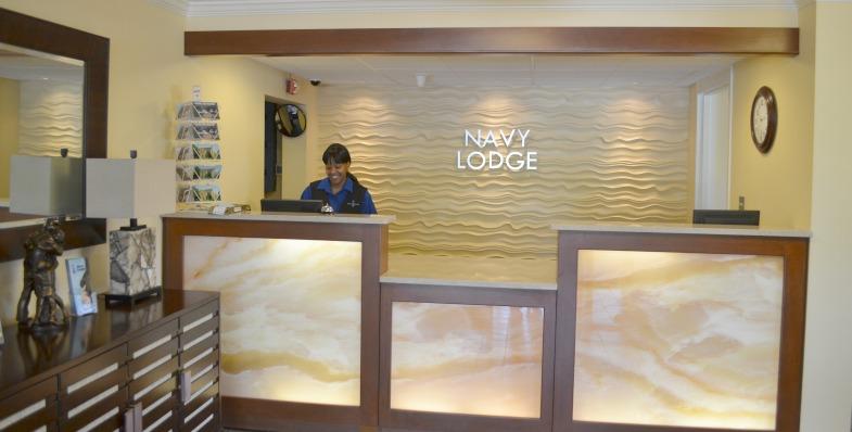 Navy Lodge Reception