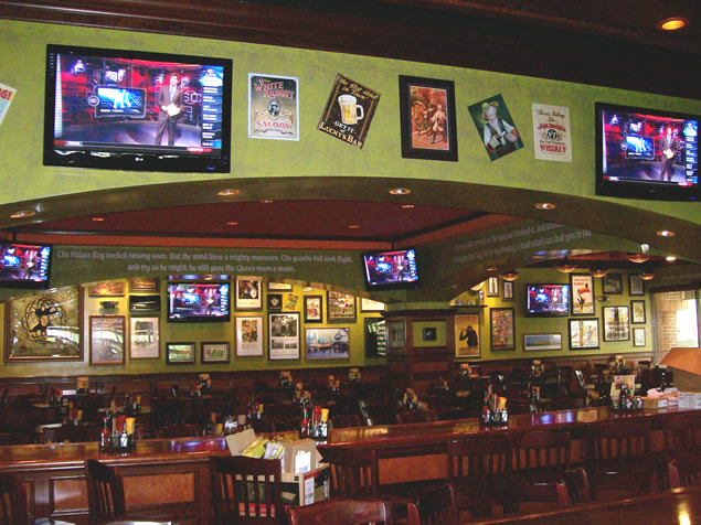 Tilted Kilt Dining Low Wall